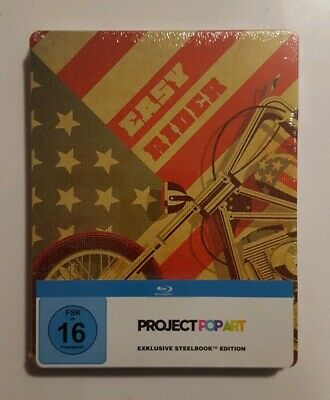Blu-ray Steelbook : EASY RIDER - Ed. Project PopArt - Neuf sous blister