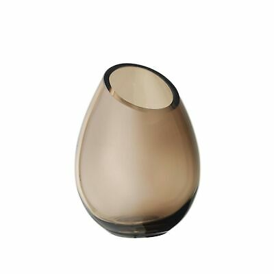 Blomus DROP Vase -DROP- coffee Glas farbig coffee 65964