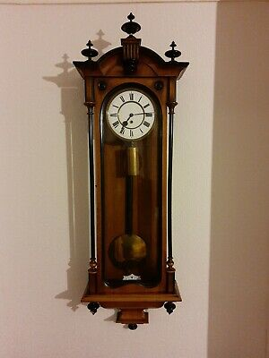 Antique Slim Case,Single Weight Vienna wall Clock