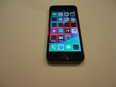 Apple iPhone 5s - 16GB - Space Gray GSM Unlocked A1533 Excellent 7546