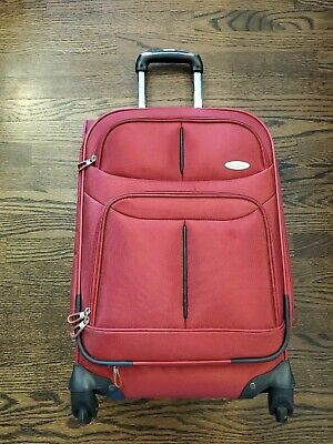 Samsonite Lift2 Spinner - Luggage Red 22 x 15 x 10 Overhead Carry On Size