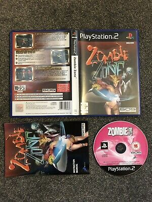 PlayStation 2 Game - Zombie Zone (Superb Complete Condition) UK PAL