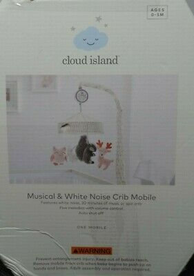 Cloud Island Forest Animals Musical Mobile - New