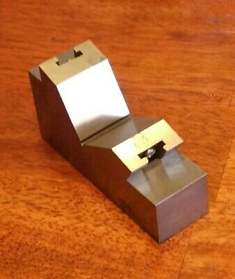 Bison 0 - 60 Degree Precision Angle Block for Milling Drilling and Set Up POLAND