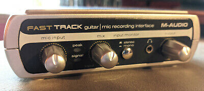 M-Audio Fast Track USB Computer Recording Interface, Pro Tools Essentials, 2 Ins