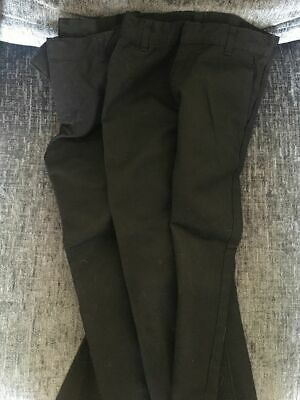 Boys School Trousers, 3 Pairs Hardly Worn, Age 5-6 Years