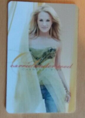 Carrie Underwood Carnival Ride MusicPass Music Card Collectible Not Activated