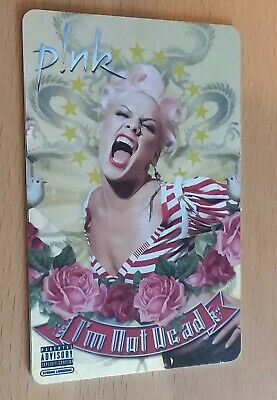 PINK I'm Not Dead MusicPass Music Card 2006 Collectible Not Activated