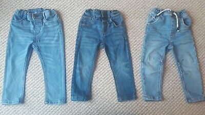 Boys clothes - 3 Pairs of Jeans. Next/h&m. 12-18 Months