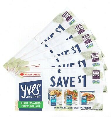 15x Save $1 On any Yves Product Coups April 2020 (Canada)