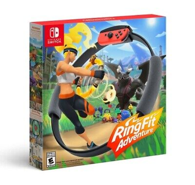NEW Nintendo Switch Ring Fit Adventure -- Standard Edition (2019) IN HAND