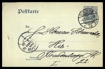 Mayfairstamps Germany Berling to Brandenburg Cover wwd_46575