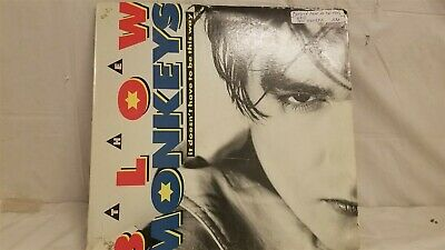 """The Blow Monkeys - It Doesnt Have To Be This Way - 12"""" Vinyl Single"""