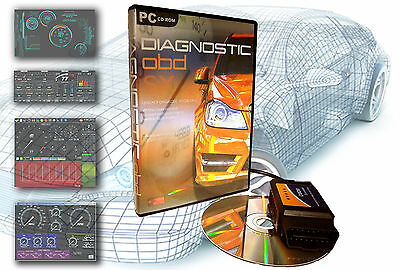 OBD Software for ALL CARS 1996 - 2020 Professional Diagnostic Pack EOBD 1&2 II