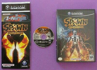 Spawn: Armageddon (Nintendo GameCube, 2003) with Case & Manual