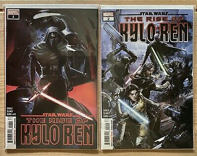 Marvel Comics Star Wars The Rise of Kylo Ren #1 And #2  2019 1st Print NM+