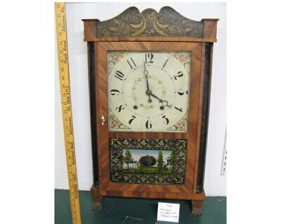 Antique Eli Terry Jr Clock Original