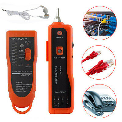 RJ11 Tracer Headset Test Cabling equipment Cable tracker tone generator XQ350 AU