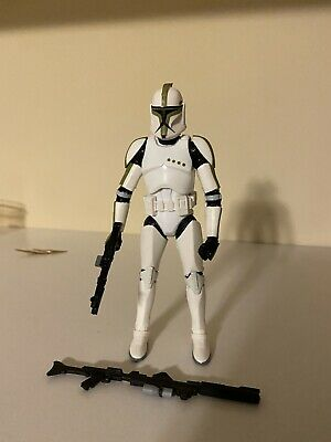 "Star Wars Authentic Black Series 6/"" #07 Clone Trooper Sergeant Loose Complete"