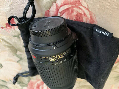 Nikon DX AF-S Nikkor 55-200mm 1:4-5.6G ED Auto/ Manual Focus Lens