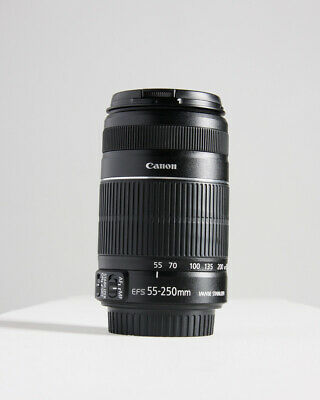 CANON 55-250mm F/4.0-5.6 IS II LENS - Photography Zoom EF-S