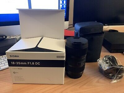 Sigma 18-35mm F1.8 Art DC HSM Lens For Canon EF Mount
