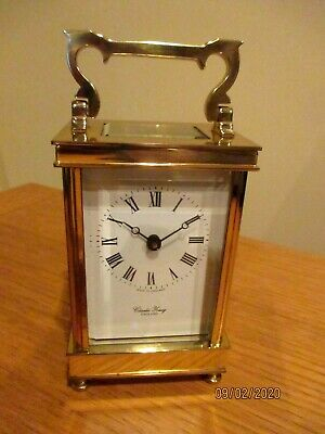 """Superb  """" Charles Young """"  8 Day Carriage Clock ."""