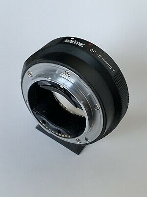 Metabones EF to E Mount Mark IV Lens Adapter GOOD Condition
