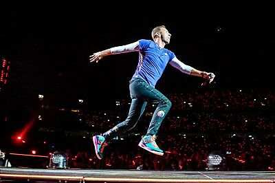 Chris Martin, Replicated Coldplay T-Shirt - ONLY SIZE S!