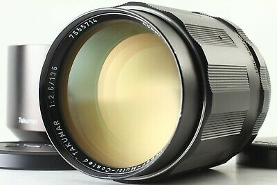 【 EXC+5 w/ HOOD 】 6 Elements Asahi Pentax SMC Takumar 135mm f/2.5 M42 from JAPAN