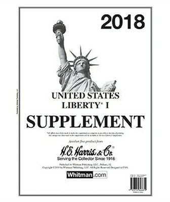 Harris Stamp Album Supplement Pages Liberty I 2018 New Free Shipping Deal