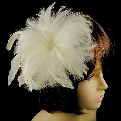 WHOLESALE STOCK CLEARANCE 10 x Clip Fascinators - 2 Colours (e105)