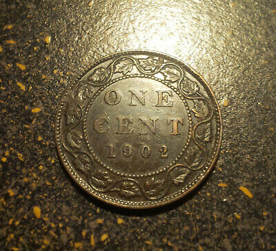 1902 Canada Large Cent - P1902-9