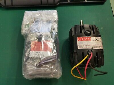 AC Motor With Worm Screw  415v 3 Phase And Spare motor