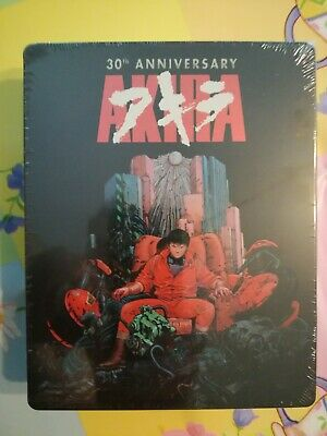 AKIRA 30th ANNIVERSARY (BLU-RAY+DVD -STEELBOOK) LIMITED EDITION (NUOVO)