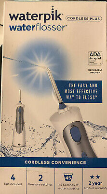 Waterpik Waterflosser WP-450W Open Used Complete With Charger And Picks