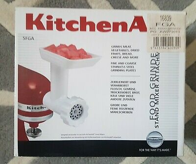 Kitchen Aid food Grinder stand mixer Attachment