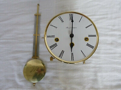 Hermle Westminster Wall Clock Movement, Pendulum and Dial
