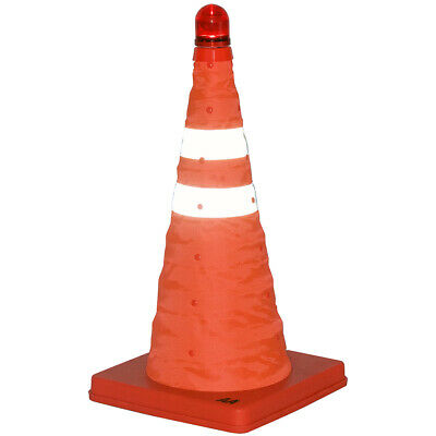 AA Emergency Breakdown Popup Cone with Emergency Beacon Flashing LED Beacon CONE