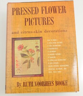1957 Pressed Flower Pictures Book. 228 pages