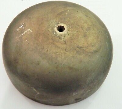 A GOOD 18th 19thC BELL FOR LONGCASE OR GRANFATHER CLOCK