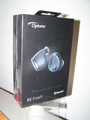 Optoma NuForce BE Free5 Truly Wireless Earbuds NEW SEALED