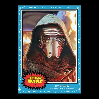 🏅Topps Star Wars Living Set 2 CARD BUNDLE Pre 75-76 Disney Kylo Ren Kit Fisto