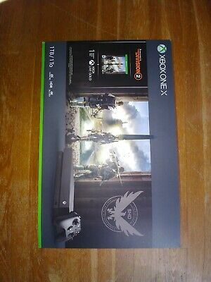 Microsoft Xbox One X 1TB Tom Clancy's The Division 2 Console Bundle - Black