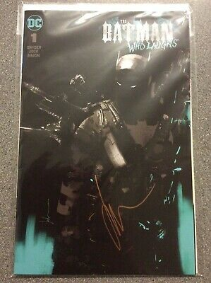 DC Comics - BATMAN WHO LAUGHS #1 GRIM KNIGHT VARIANT COVER - SIGNED BY JOCK