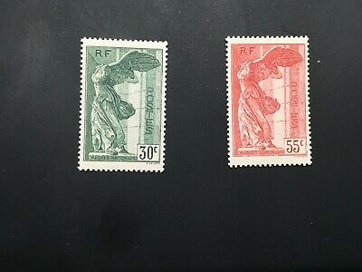 "FRANCE STAMP TIMBRE N° 354/355 "" VICTOIRE SAMOTHRACE "" NEUFS xx VALEUR:420€"