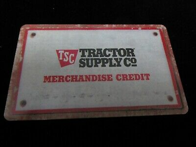 Tractor Supply Co Gift Card $74.19