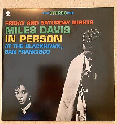 In Person: Friday & Saturday Night at the Black Hawk by Miles Davis (Vinyl,...