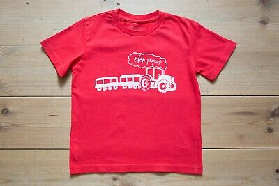 Boys Eden Project Organic Cotton T-Shirt. Childrens/Kids Age 3-4 Years. NEW