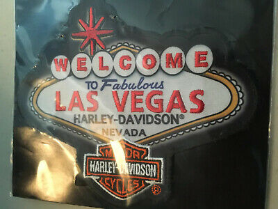 Authentic HARLEY DAVIDSON  Emblem patch: Las Vegas HD Nevada NEw